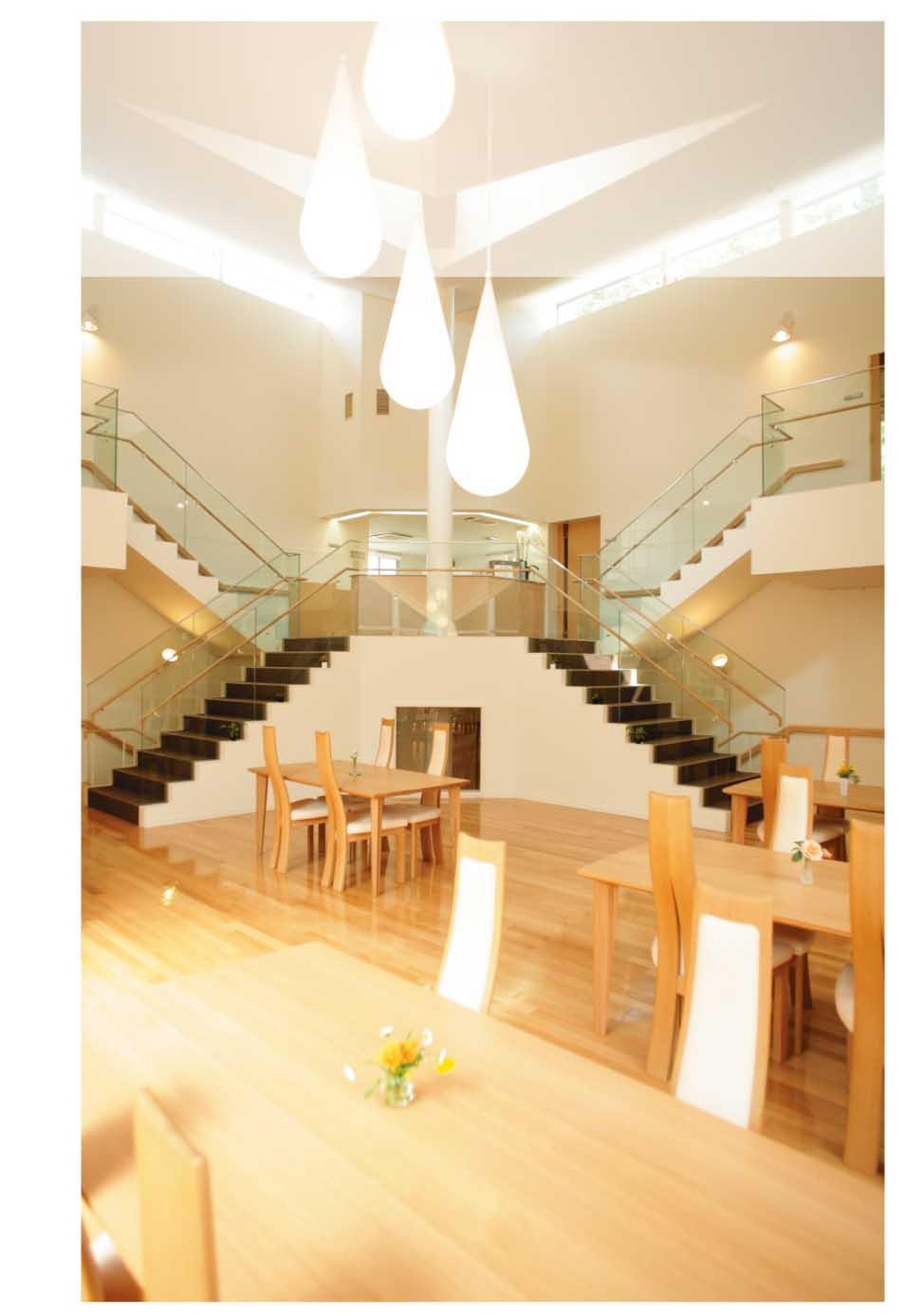 ストレスケア病棟「なごみ」は光を取り入れやすい構造になっている