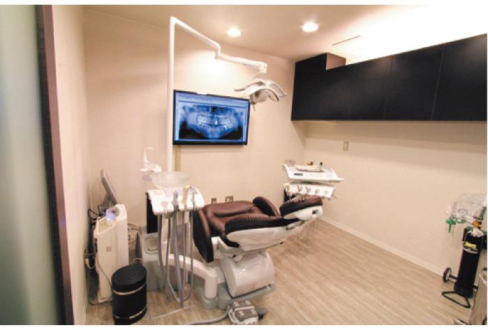 有楽町デンタルオフィスの診療室