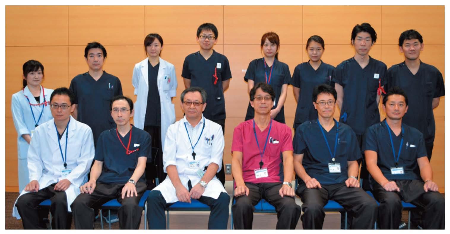 10名の医師がチームでがん治療を手がける