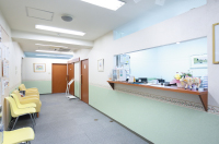 当院の受付・待合室
