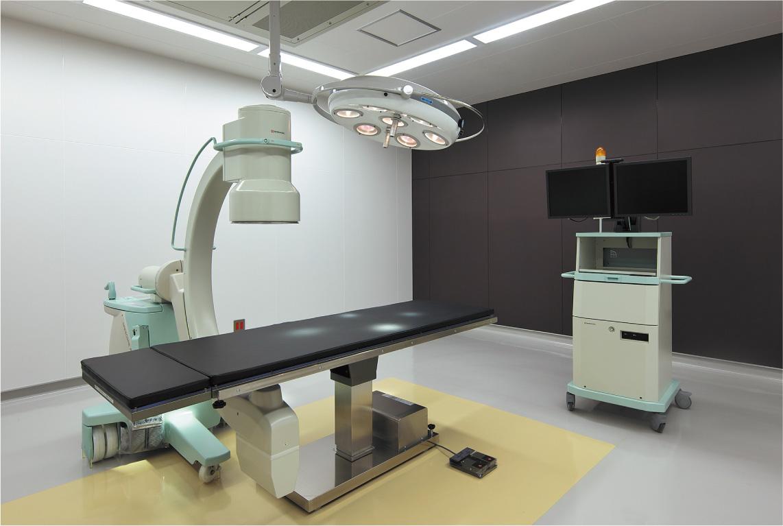 シャント手術などの外科的処置を行う手術室