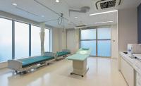 専用の処置室で救急にも対応