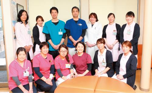スタッフ全員で患者が安心できる診療を目指す