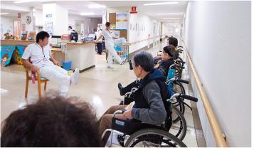 回復期リハビリテーション病棟で行われる体操のプログラム