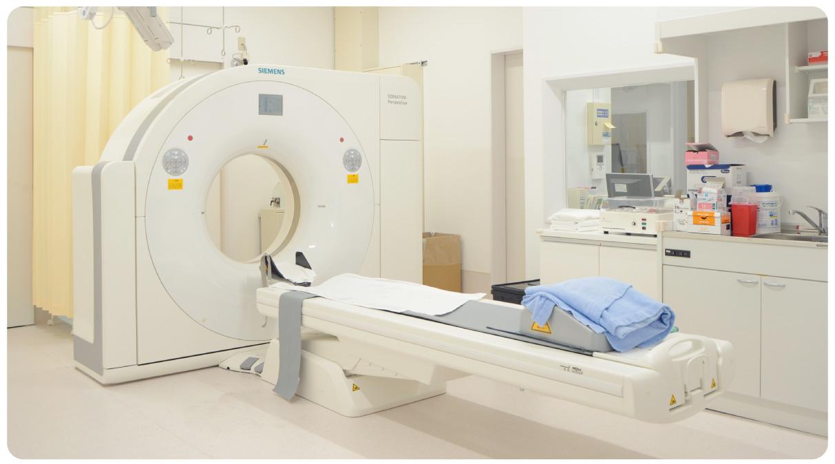 最新のCT、MRIで正確な診断につなげる
